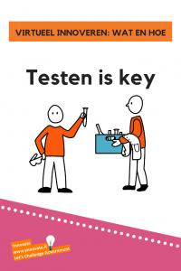 virtueel innoveren: testen is key