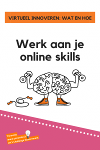 virtueel innoveren: werk aan je online skills